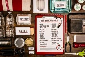 checklist for disaster preparedness