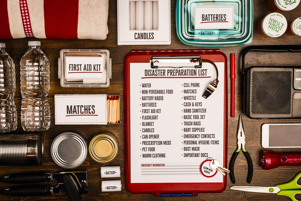 checklist for disaster preparedness