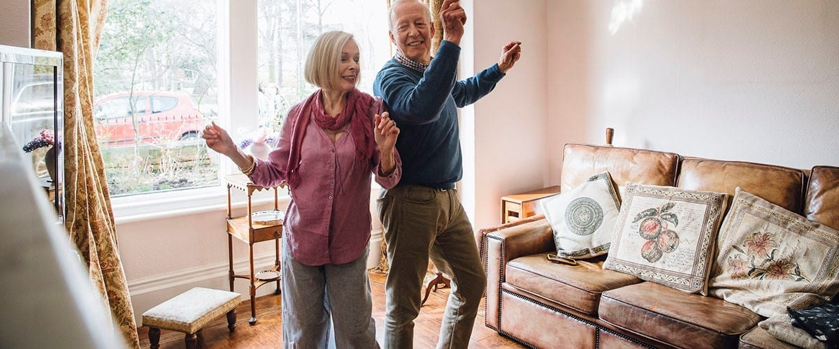 Dancing to improve stability