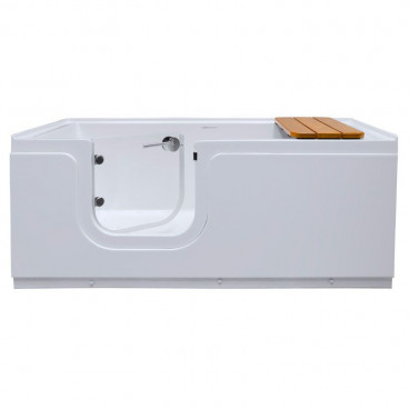 step in tub with heated shell and left hand door
