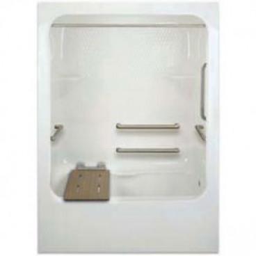 ada compliant acrylic bathtub with dome top