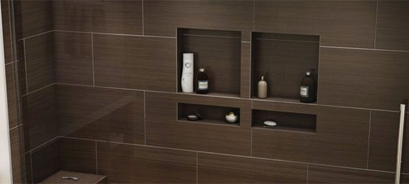 Tiling Niches and Ledges