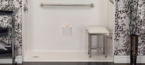 Shower Benches with Legs