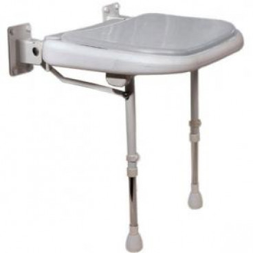 Folding Shower Seat gray pad
