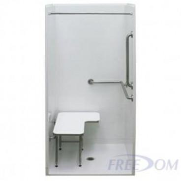 38 x 38 inches Freedom ADA Transfer Shower
