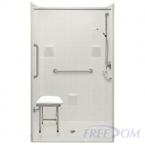 """48"""" x 37"""" Freedom Accessible Shower"""
