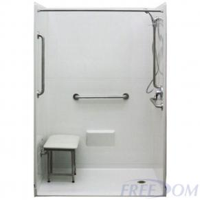 54 X 31 Freedom Accessible Shower Right Drain