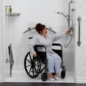 wheelchair shower