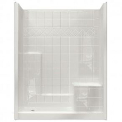 """60"""" x 36"""" Easy Step Shower, RIGHT Seat"""