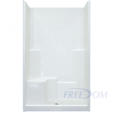 freedom easy step shower, 48 inches