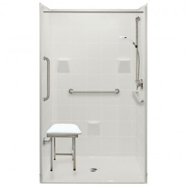 """48"""" x 37"""" x 78"""" Freedom Accessible Shower Package"""