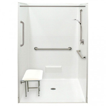 "50½"" x 50⅛"" Freedom Accessible Shower Package"