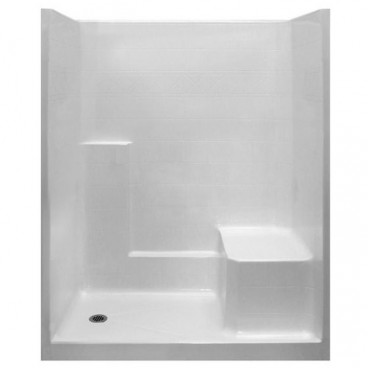 "60"" x 33"" Freedom Easy Step Shower, RIGHT Seat"