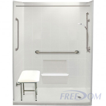 freedom easy step shower package 60 x 33