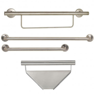 contractor shower grab bar package