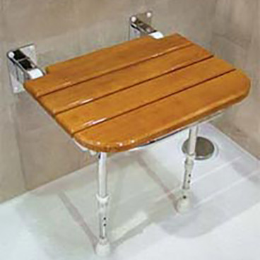 wood shower seat