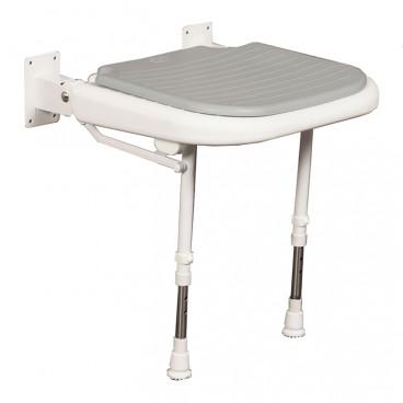 Folding Shower Seat gray pad