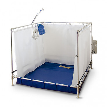 "46"" x 46"" x 44"" Bariatric Portable Shower"