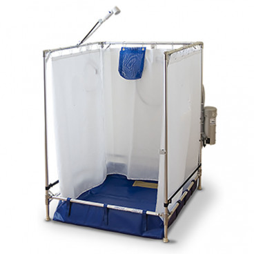 portable wheelchair shower