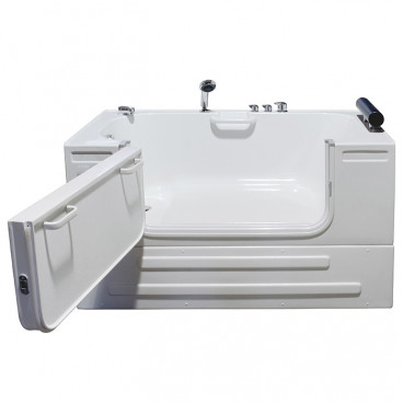 slide in tub with closed skirt