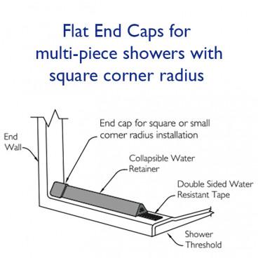flat end caps