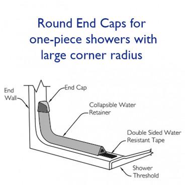 round end caps