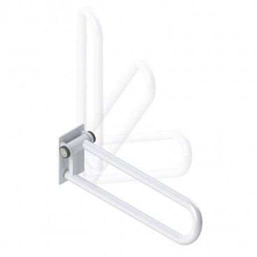folding side of toilet rail