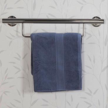grab bar with towel bar
