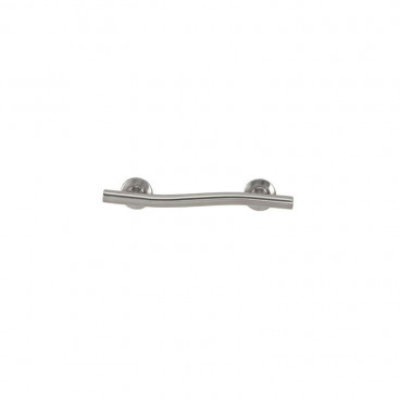 18 inch satin stainless wave style grab bar