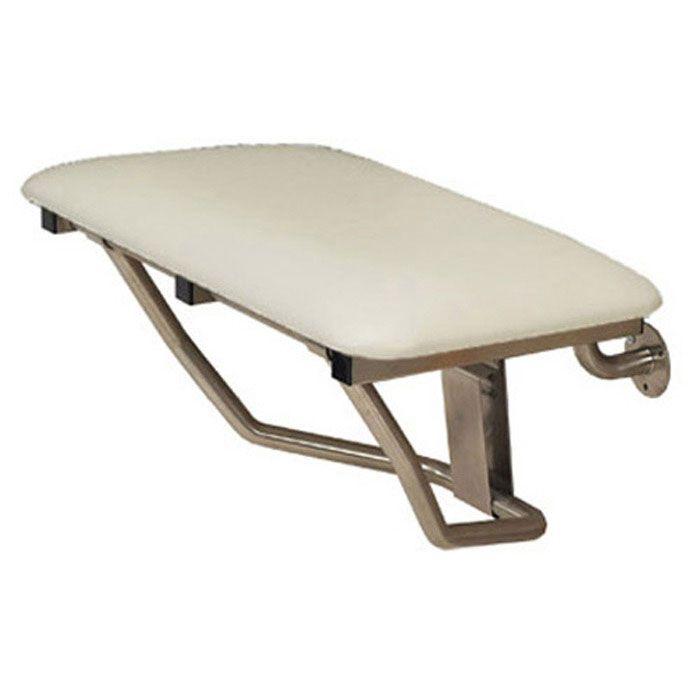 Folding Shower Bench 30 X 15 Padded White
