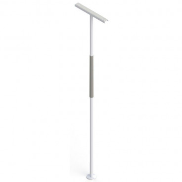 Support pole for bathroom or bedroom