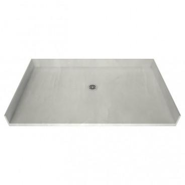 66 x 38 Freedom Tile Over Shower Pan Center drain