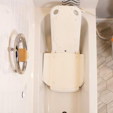 bath lift electric seat