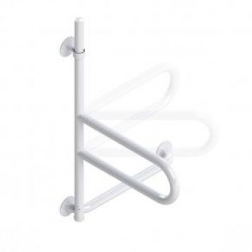 bath safety bar white