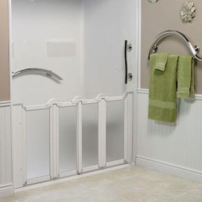 """Caregiver Shower Door, 56 ¾"""" - 58 ¼"""""""