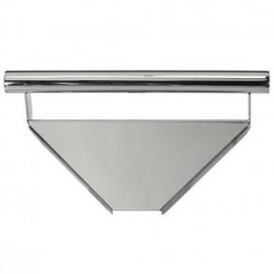 Corner Shelf with Integrated Grab Bar, Polished