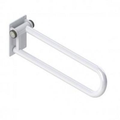 Fold up Side of Toilet Rail, White