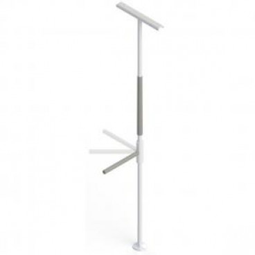 bariatric support pole with support bar