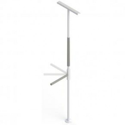 Heavy Duty Support Pole with Super Bar
