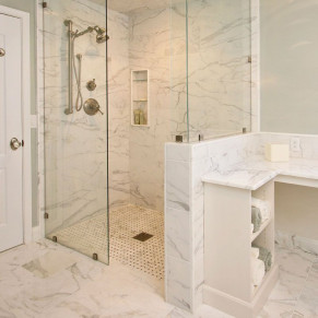 Level Entry Shower Pan Curbless