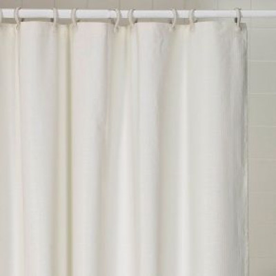 heavy duty weighted shower curtain