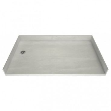 Freedom Tile Over Accessible Shower Pan Left Drain