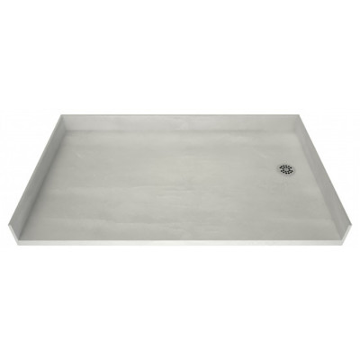 """54"""" x 33"""" Tile Over Accessible Shower Pan, RIGHT Drain"""