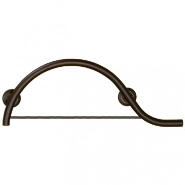bronze towel grab bar right hand