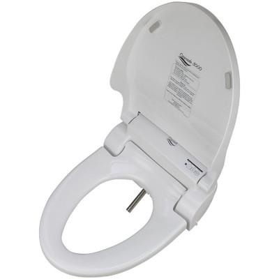Bidet Toilet Seat - Elongated, white, large remote