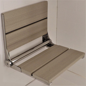 Birchwood shower bench - LuxeWood