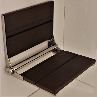 Brazilian Walnut shower bench - LuxeWood