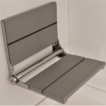 Light Gray shower bench