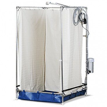 extra large EMS portable shower wheelchair accessible