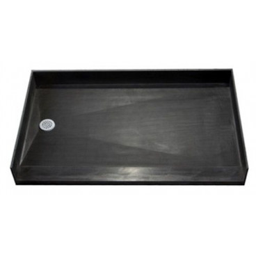 Tile Over Accessible Shower Pan 60 X 35 INCH Center Drain